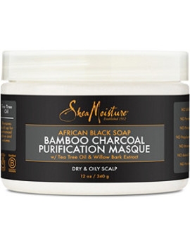 African Black Soap & Bamboo Charcoal Purification Masque by Shea Moisture