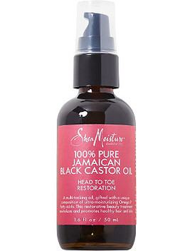 100 Percents Pure Jamaican Black Castor Oil by Shea Moisture