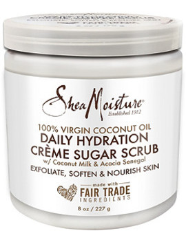 100% Virgin Coconut Oil Crème Sugar Scrub by Shea Moisture