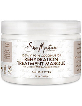 100 Percents Virgin Coconut Oil Rehydration Masque by Shea Moisture