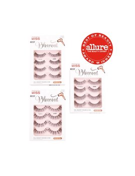 Blowout Lash Multi Pack (4 Pairs) by Kiss