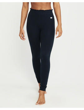 Ruffle Waist Fleece Leggings by Abercrombie & Fitch