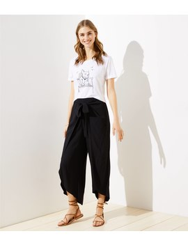 Loft Beach Tie Front Pants by Loft