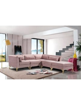 Chic Home Guison Modular Chaise Sectional Sofa With 6 Throw Pillows by Chic Home
