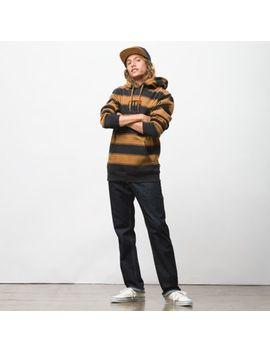 Tall Box Stripe Pullover Hoodie by Vans