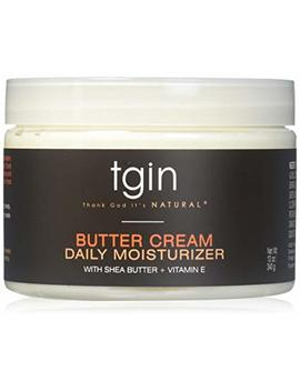 Tgin Butter Cream Daily Moisturizer For Natural Hair, 12oz by Thank God It's Natural
