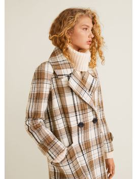 Cappotto Quadri by Mango
