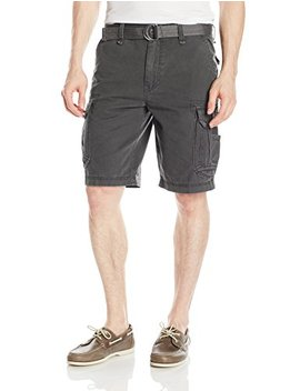 Unionbay Men's Survivor Belted Cargo Short Reg Big & Tall Sizes by Unionbay