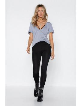 Back To Basics High Waisted Leggings by Nasty Gal