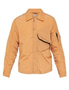 Lens Coated Zip Through Jacket by C.P. Company