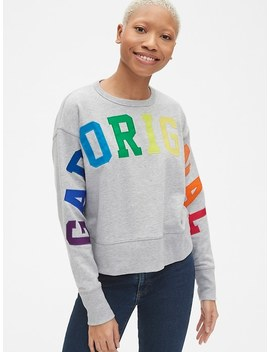 Gap Originals Pullover Sweatshirt In French Terry by Gap