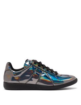 Replica Patent Leather Trainers by Maison Margiela