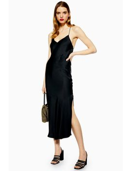 Cowl Back Slip Dress by Topshop