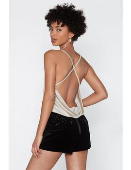 back-it-up-cowl-bodysuit by nasty-gal