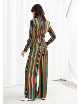 Multicoloured Stripe Trousers by & Other Stories