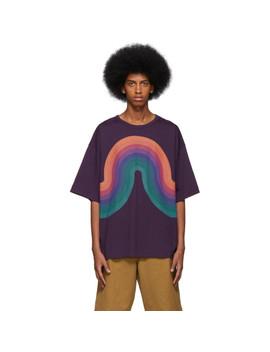 T Shirt Surdimensionné Mauve Hoky édition Verner Panton by Dries Van Noten
