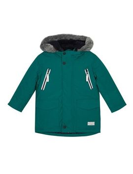 J By Jasper Conran   Boys' Green 3 In 1 Padded Jacket by J By Jasper Conran