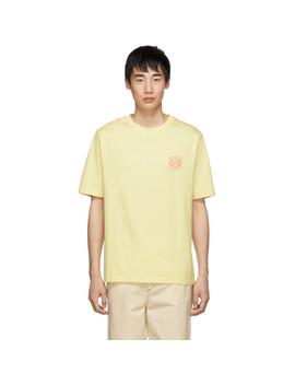 T Shirt Jaune Anagram by Loewe