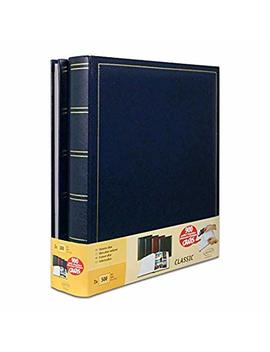 Brepols Set Of 2 Jumbo Traditional Photo Album 100 Pages For 500 Photos 10 X 15 Cm – Blue by Brepols