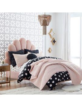The Emily & Meritt Shell Upholstered Bed by P Bteen