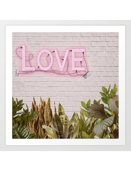 Love Sign Art Print by