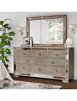 Willa Arlo Interiors Dowson 8 Drawer Dresser With Mirror & Reviews by Willa Arlo Interiors