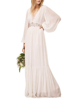 French Connection Cari Maxi Bridal Dress, Summer White by French Connection
