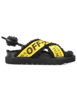 Logo Strapped Sandals by Off White