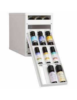 You Copia Bottlestack Essential Oils Organizer And Nail Polish Holder, White by You Copia