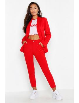Petite Tailored Trouser by Boohoo