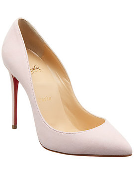 Christian Louboutin Pigalle Follies 100 Suede Pump by Christian Louboutin
