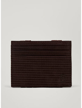 Carteira Pele Magic Wallet Laser by Massimo Dutti