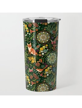 Treasures Of The Emerald Woods Travel Mug by