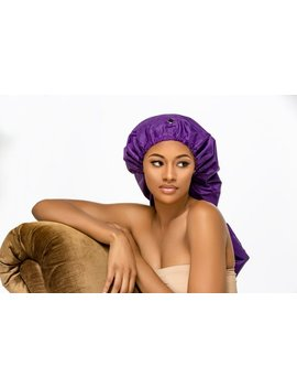 Sassy Hair Cap: Long Shower Cap by Etsy