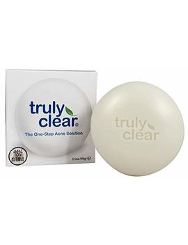 Truly Clear Blemish Bar Acne Treatment 98.42 Percents Natural   Face Wash, Body, Back, Butt Cleanser, Pimple & Spot Removal, Rosacea, Oily, Sensitive Skin Care by Trulyclear