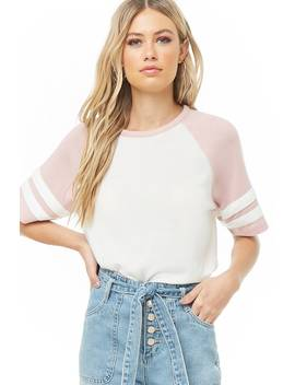 T Shirt Con Righe A Contrasto by Forever 21
