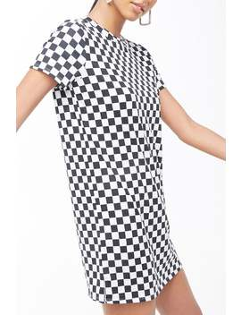 Checkered T Shirt Dress by Forever 21