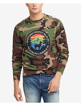 Men's Great Outdoors Sportsmen's Fleece Sweatshirt by Polo Ralph Lauren