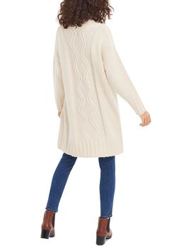Camilla Chunky Cable Cardigan by Oasis