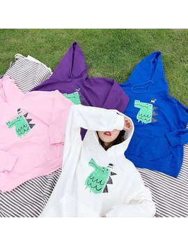 women-hoodies-long-sleeve-sweatshirt-2018-autumn-cute-dinosaur-printed-harajuku-casual-thin-pullover-female by lunoakvo
