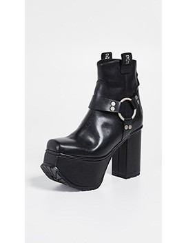 Ankle Harness Platform Boots by R13