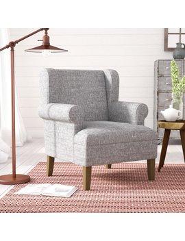 Laurel Foundry Modern Farmhouse Meade Wingback Chair & Reviews by Laurel Foundry Modern Farmhouse