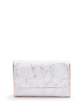 Marble Hanging Toiletry Organizer by Charming Charlie