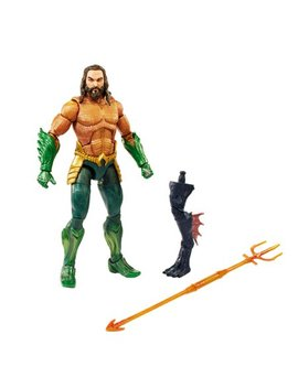 Aquaman Movie Dc Multiverse, Aquaman 6 Inch Action Figure In Armor by Aquaman