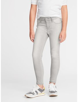 Ballerina Built In Warm Gray Wash Jeggings For Girls by Old Navy