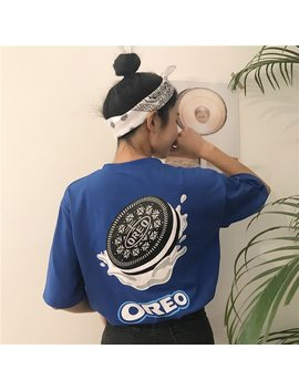 You Ge Man Summer Women Fashion Tshirt Top 2018 Korean Style Ulzzang Harajuku Funny Printed Short Sleeve T Shirt Woman T Shirts by You Ge Man