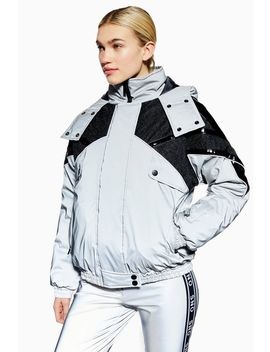 **Reflective Jacket By Topshop Sno by Topshop