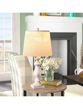 "Ophelia & Co. Roxann Modern Balustrade Column 26"" Table Lamp & Reviews by Ophelia & Co."