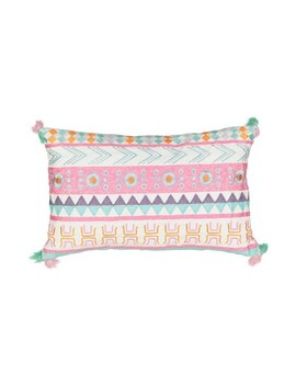 "14""X20"" La La Llama Embroidered Throw Pillow   Waverly Kids by Shop This Collection"