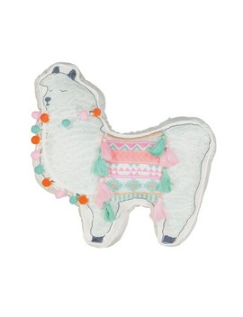 "16""X16"" La La Llama Throw Pillow   Waverly Kids by Shop This Collection"